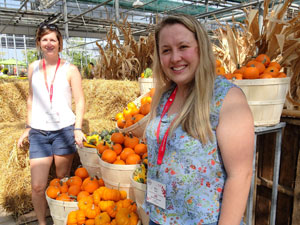 (L-R)-Liz-Dowling-of-Millbrook-Garden-Company-and-Zoe-Willis-of-Perrywood-Garden-Centre