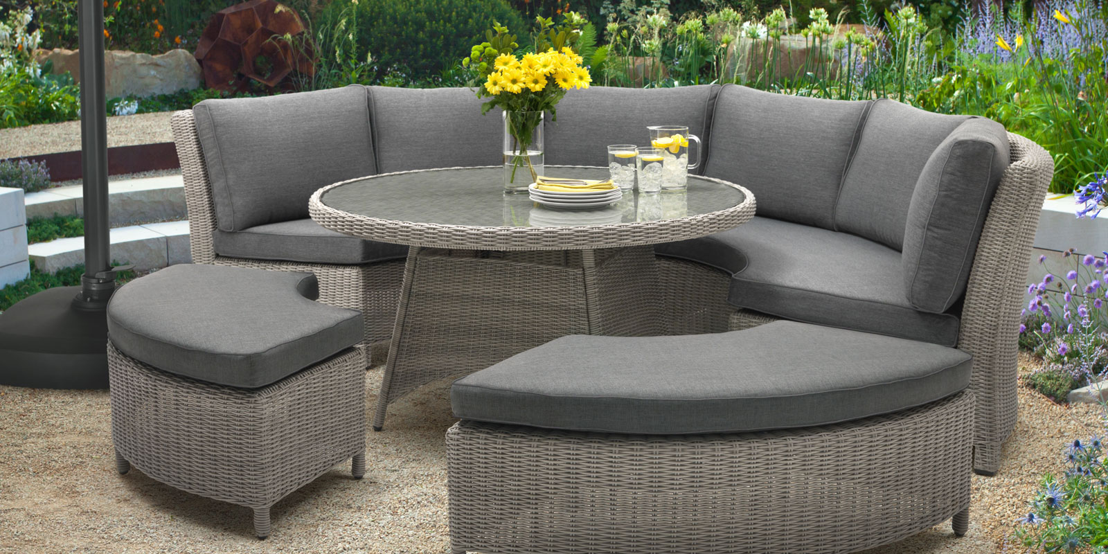 Luxurious garden furniture from Kettler