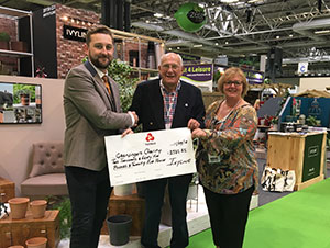 Ivyline spread happiness at Glee by raising nearly £3000 for Greenfingers Charity