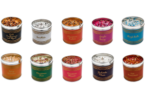 'Christmas Elegance' Candles