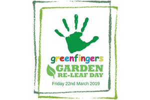 Garden Re-Leaf day on Friday 22nd March