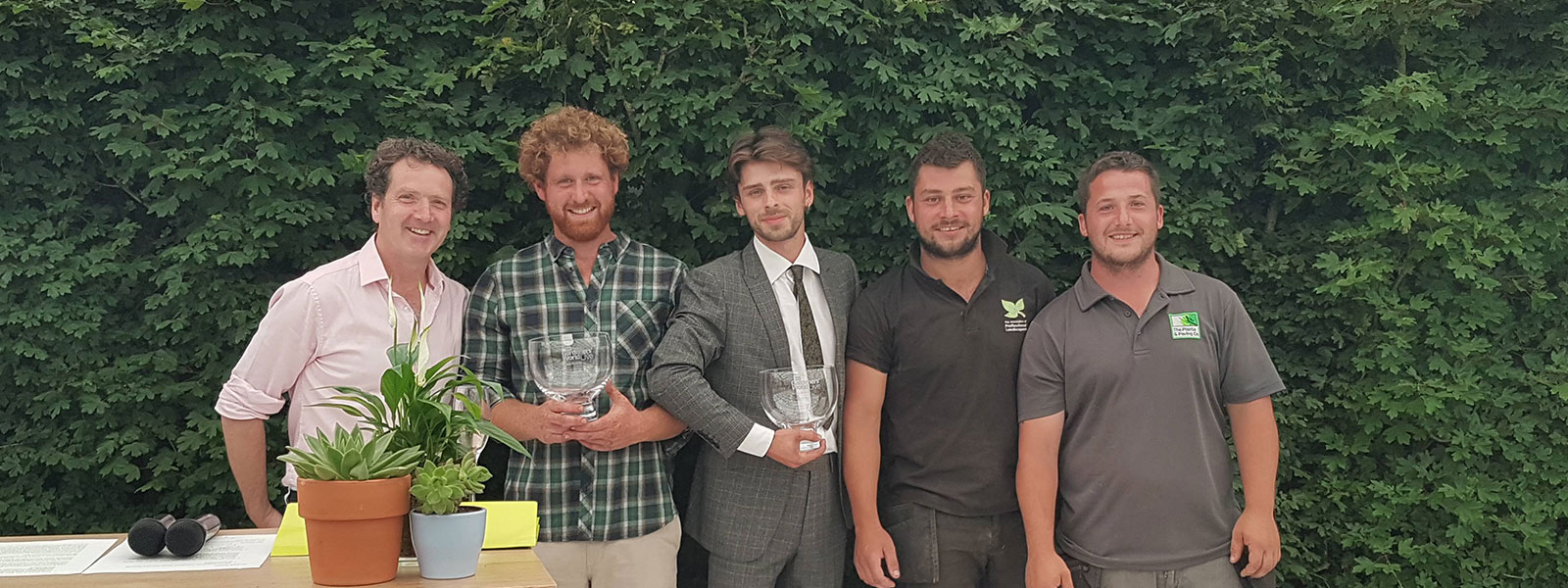 landscaping competition winners - BBC Gardeners' World Live
