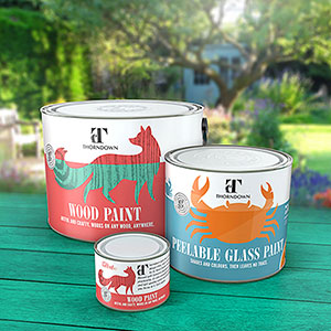Thorndown Paints to be used in garden design