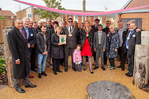 Opening of the Greenfingers Nest & Rest Garden