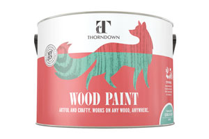 Thorndown garden design wood paint