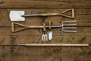 Tools from Kent & Stowe.