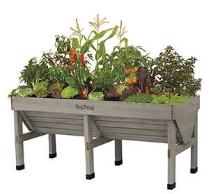 The VegTrug raised bed planter.