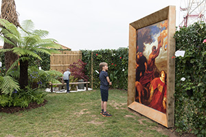 Van Dyck painting at RHS Flower Show Tatton Park 2017