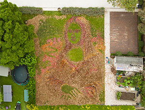 Mona Leafa Created To Inspire Brits To Make Their Gardens A Work Of Art