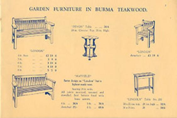 100 Years Of Barlow Tyrie Catalogue Page