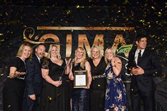 Primeur team at GIMA Awards
