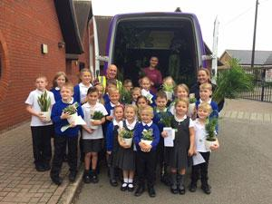 Essex garden centre teams up with primary schools to highlight benefits of bringing houseplants into the classroom