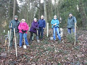 Wyevale Nurseries supplies trees to Malvern Hills Trust