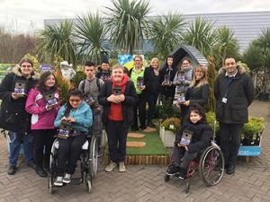 Haskins Garden Centre in Roundstone donates bird boxes to Angmering School for National Nest Box Week