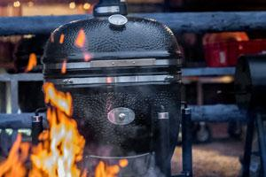 Charcoal Barbecue Go Smart